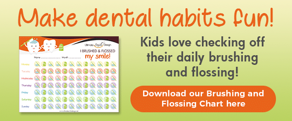 download brushing and flossing chart